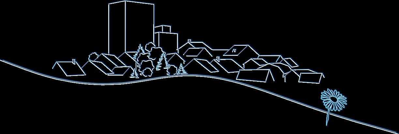 Silhouette de la ville